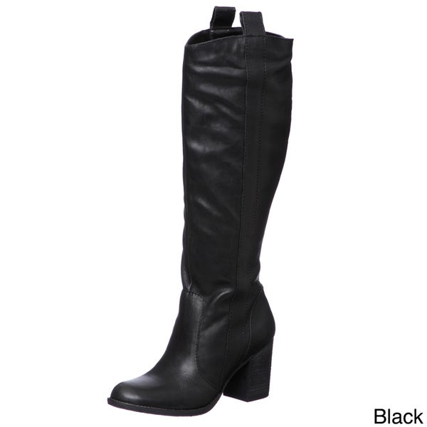 Steven by Steve Madden Women's 'P-Twisted' Riding Boots