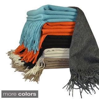 Cashmere Showroom Signature Merino Wool Luxury Throw