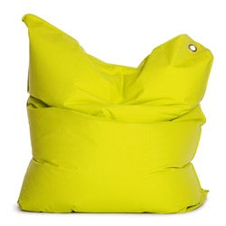 Sitting Bull The Bull Lime Green Adult Bean Bag Chair