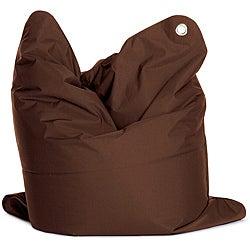 Sitting Bull Medium Bull Brown Bean Bag
