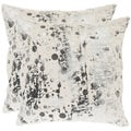Safavieh Cosmos 22-inch White Decorative Pillows (Set of 2)