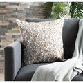 Dazzle 18-inch Silver Decorative Pillows (Set of 2)