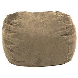 BeanSack Ultra Tan Microfiber Suede Bean Bag Chair