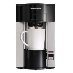 Hamilton Beach Single-serve Coffee Maker w/ Starter Bag of 18 Senseo Pods