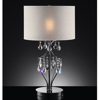 TRIBECCA HOME Elena Refined Crystal Table Lamp