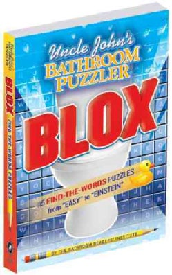 Uncle John's Bathroom Puzzler Blox (Paperback)