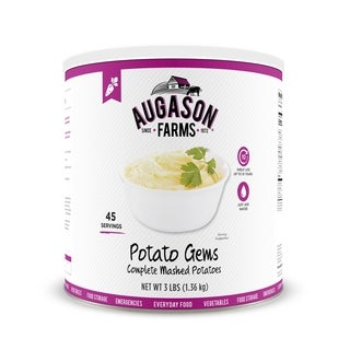 Augason Farms Potato Gems Complete Mashed Potatoes (Pack of 3)