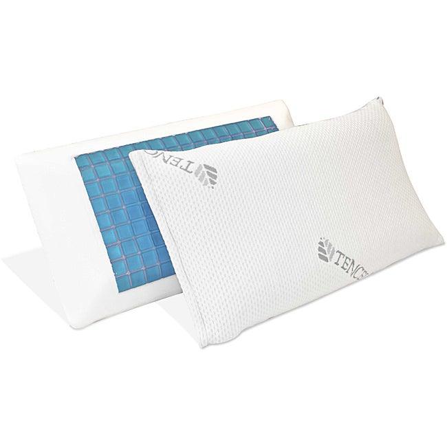 Coconut Cloud Cooler Sleep Queen-size Gel Memory Foam Pillow