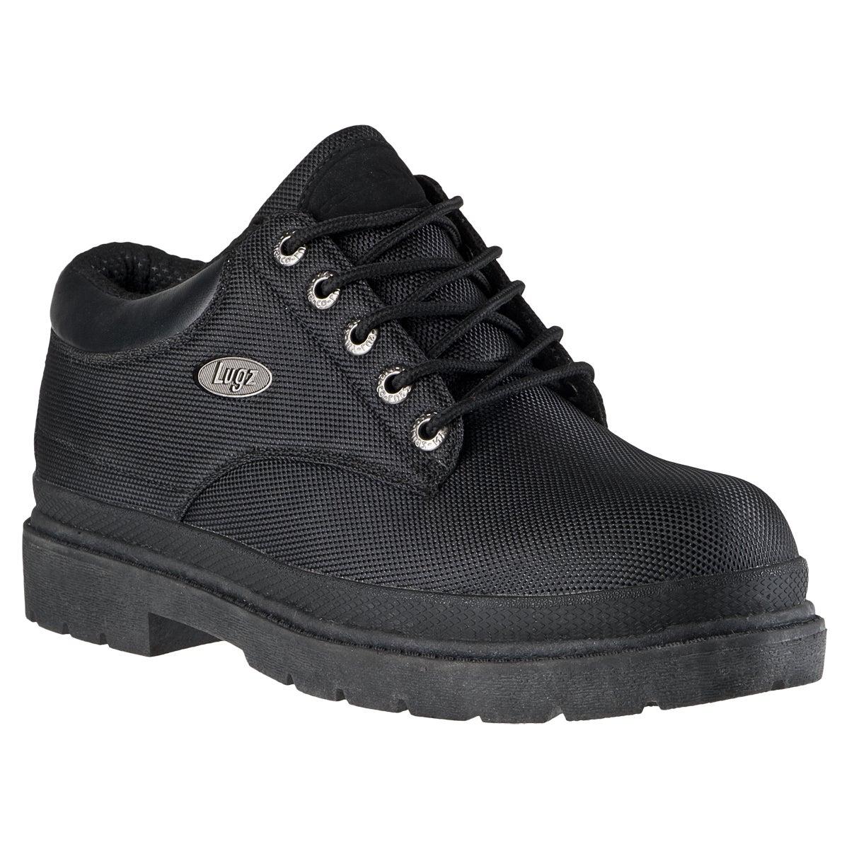 Lugz Men's 'Drifter Lo Ballistic' Black Nylon Boots
