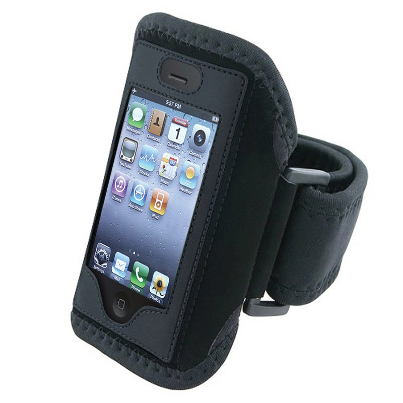 INSTEN Black Armband for Apple iPhone 4S/ 3GS