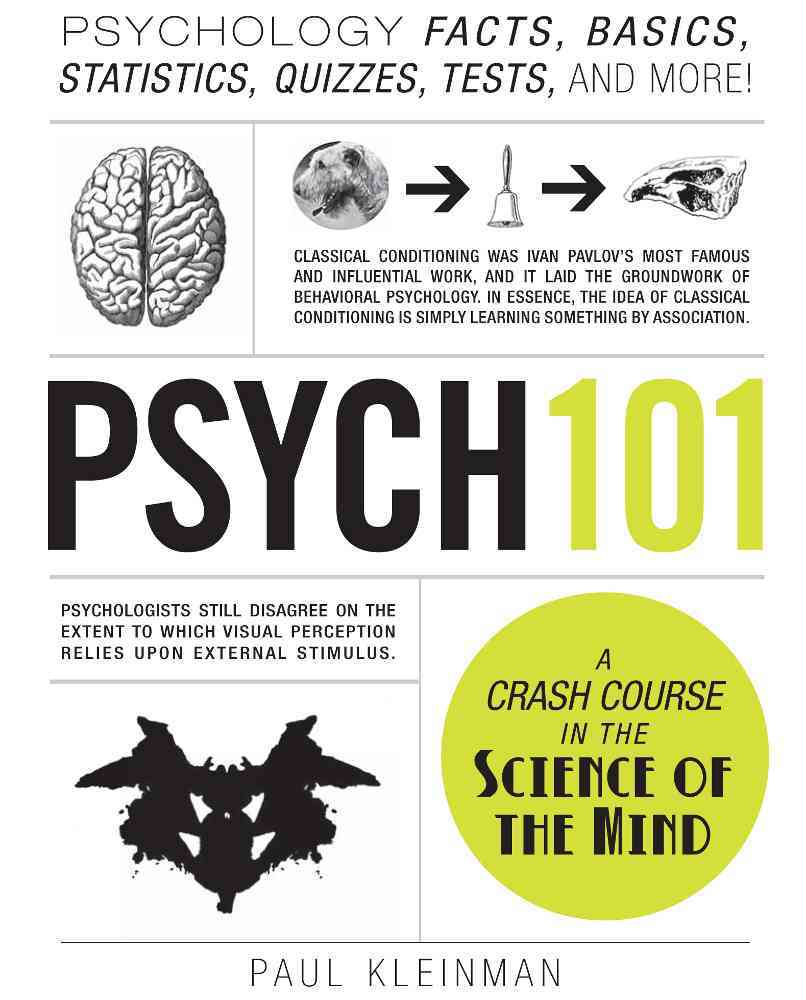 Psych 101: Psychology Facts, Basics, Statistics, Quizzes, Tests, and More! (Hardcover)