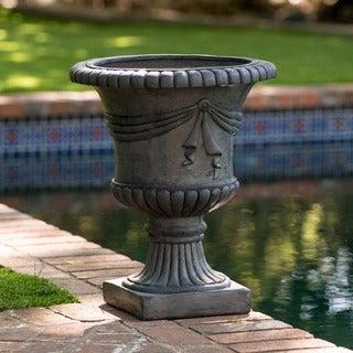 Christopher Knight Home Antique Grey Zeus 20-inch Urn Planter