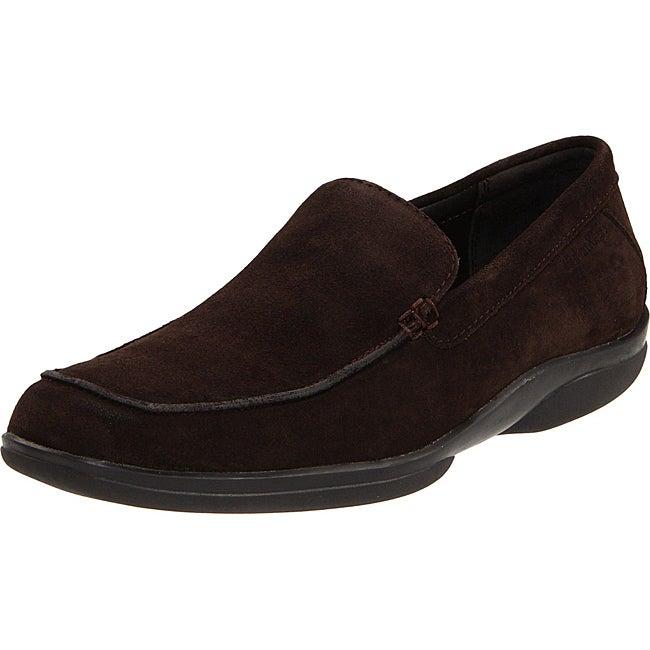 Calvin Klein Men's 'James' Brown Suede Loafers