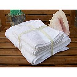 Grandeur 100-percent Cotton Hospitality Bath Towels (Set of 12)