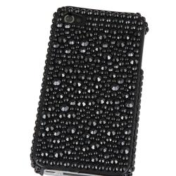 INSTEN Black Diamond Snap-on Phone Case Cover for Apple iPhone 4/ 4S