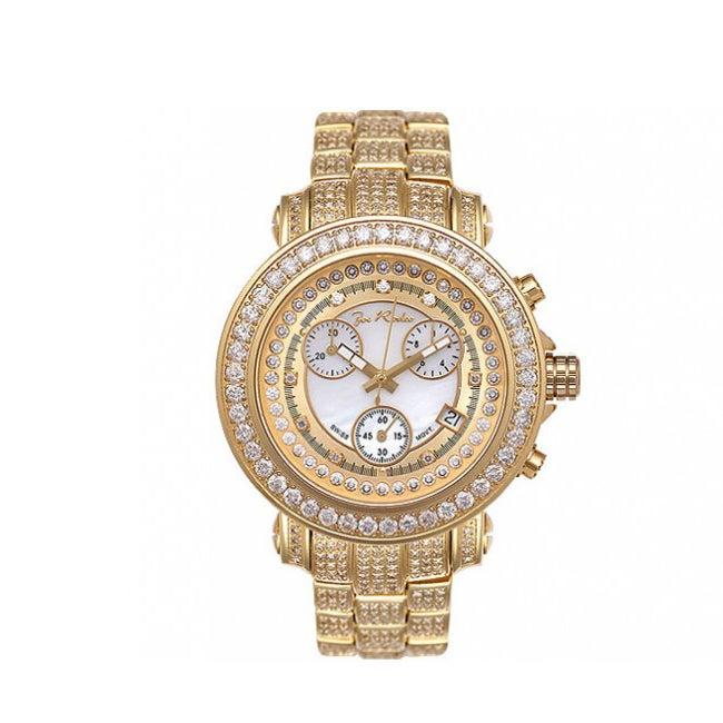 Joe Rodeo Women's Rio Goldtone Diamond Watch