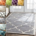 Handmade Luna Moroccan Trellis Rug (5&#39; x 8&#39;)