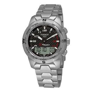 Tissot Men's 'T-Tactile T-Touch II' Multi-Function Titanium Watch