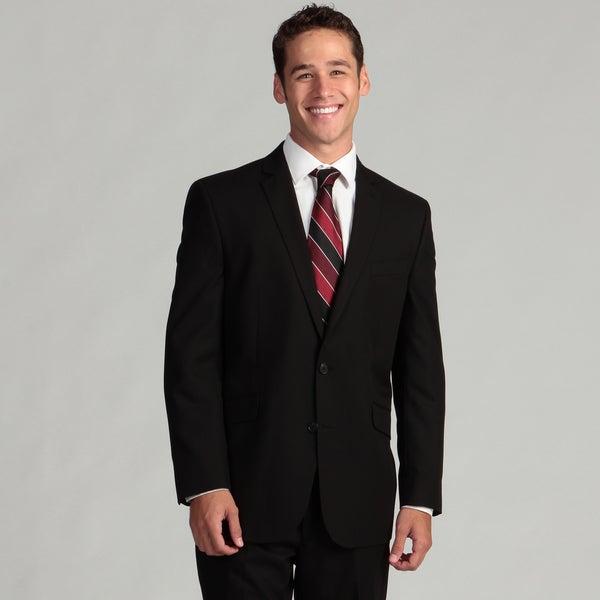 Kenneth Cole Reaction Men's Black 2-piece Suit