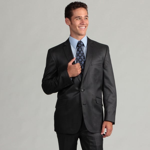 Kenneth Cole Reaction Men's Navy Slim Fit Suit
