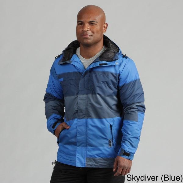 Zonal Men's Wide Stripe Snowboarding Jacket