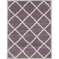 Alliyah Handmade Lilac New Zealand Blend Wool Rug (9' x 12')