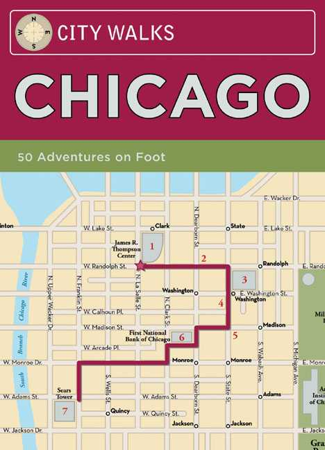 City Walks Chicago: 50 Adventures on Foot (Cards)