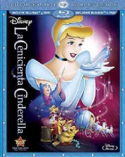 Cinderella (Diamond Edition) (Spanish Package) (Blu-ray/DVD)