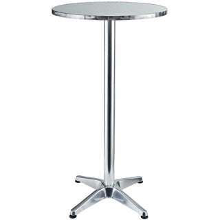 Elevate Modern Round Aluminum Outdoor Bar Table