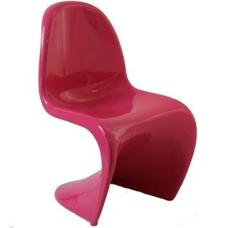 Verner Panton Style Pink Chair