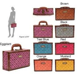 Nicole Lee Adela Embossed 12-inch Briefcase