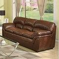 Joyce Bonded Leather Sofa
