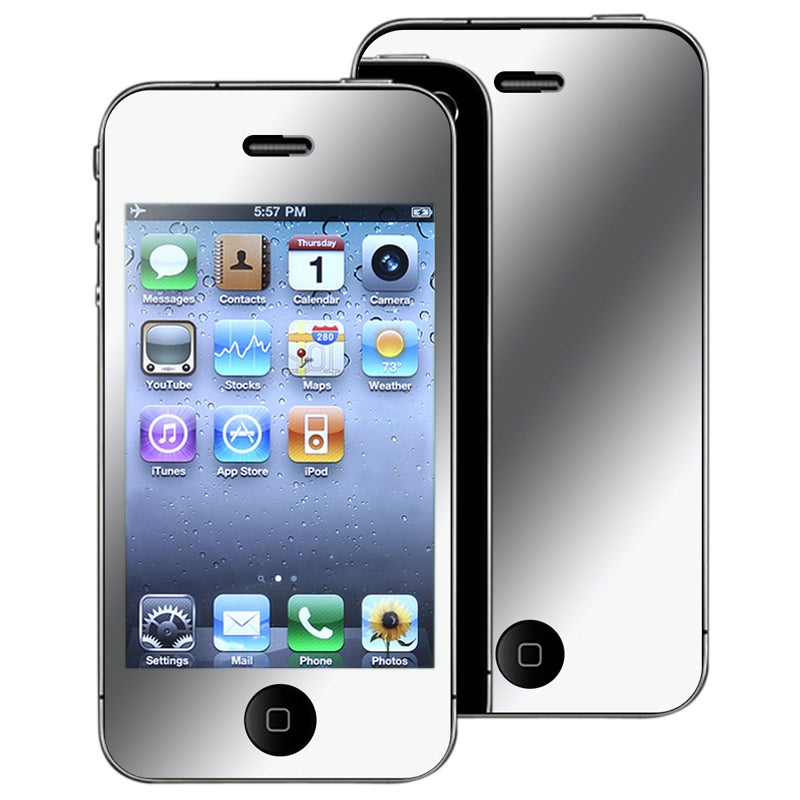 INSTEN Mirror Screen Protector for Apple iPhone 4/ 4S