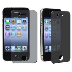 INSTEN Privacy Screen Protector for Apple iPhone 4/ 4S
