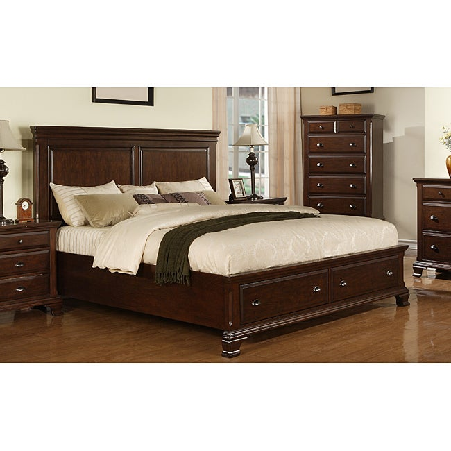 Torino King Storage Bed