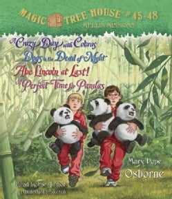 Magic Tree House: A Crazy Day With Cobras / Dogs in the Dead of Night / Abe Lincoln at Last! / a Perfect Time for ... (CD-Audio)