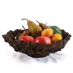 Enrico Large Driftwood Fruit Bowl (Thailand)