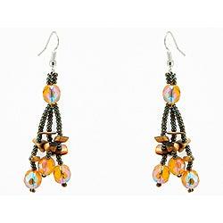 'Luzy Mocha' Handmade Earrings (Guatemala)
