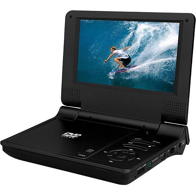 Sylvania SDVD7014 7-inch Portable DVD Player (Refurbished)