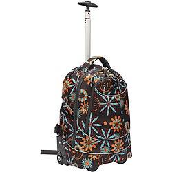 Pacific Gear Horizon Flower Rolling Laptop Backpack