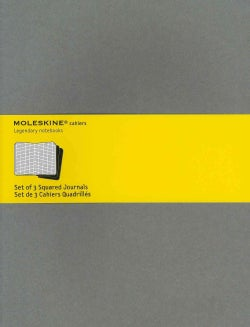 Moleskine Cahiers Squared Journals / Moleskine Cahiers Quadrilles: Light Warm Grey, Extra Large (Notebook / blank book)