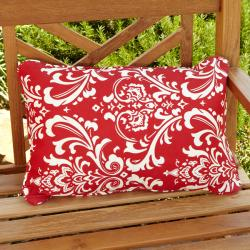 Penelope Red Indoor/ Outdoor Accent Pillows (Set of 2)