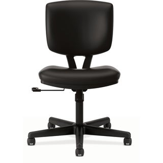 HON Volt H5701 Task Chair, Black SofThread Leather