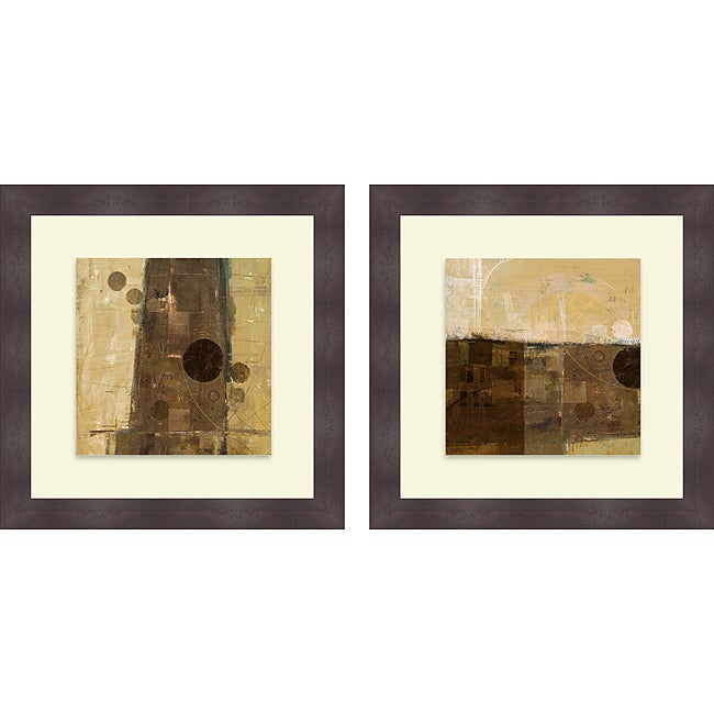 Kingsley 'Theory I & II' Framed Print