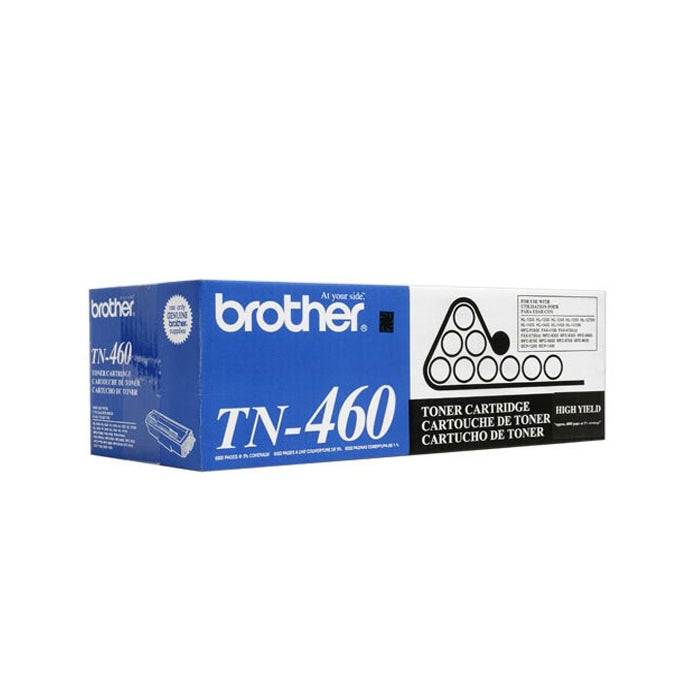 Brother TN 460 Black Toner Cartridge
