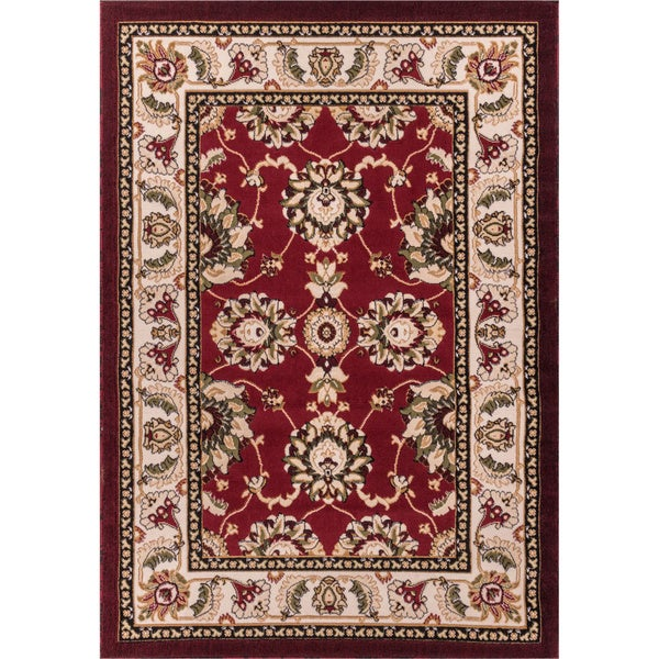Antep Red Oriental Area Rug (7'10 x 9'10)