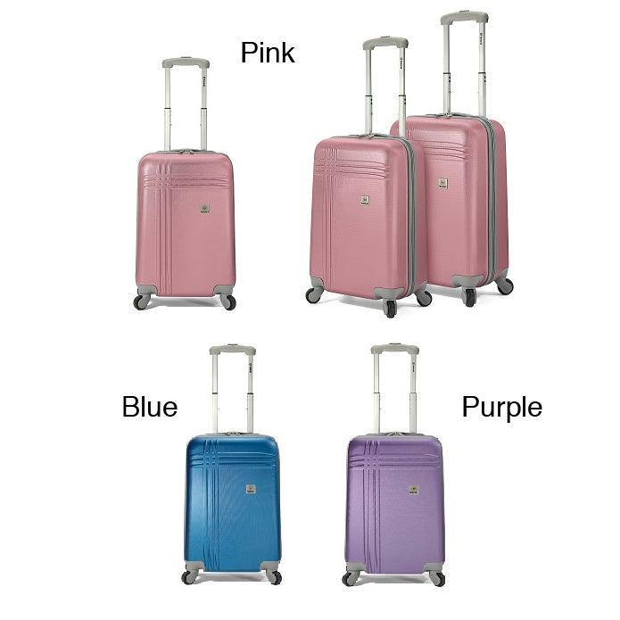 Benzi 3-piece Multidirectional Hardside Spinner Luggage Set