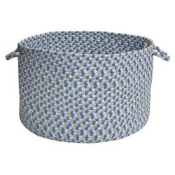 Pinwheel Blue Colored Basket