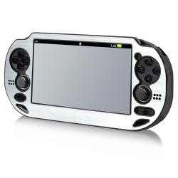 INSTEN Silver Aluminum Case Cover for Sony Playstation Vita