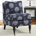 Cassidy Indigo Wash Armless Chair